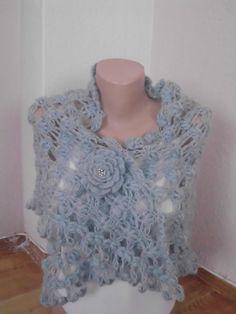 Bridal shawl/Crochet  shawl mohair shawl lace by redrosewholesaler, $59.90