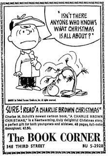 Tralfaz: The Critic Who Didn't Like 'A Charlie Brown Christmas'