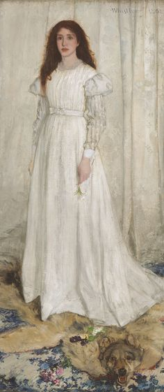 James Abbott McNeill Whistler, Symphony in White Number one