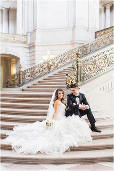 San Francisco City Hall Wedding Photography | Jessica & Sam — Blueberry Photography | Napa Sonoma Winery Wedding Photographer