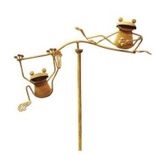 Whimsical Balancing Garden Decor is fun and interesting for any garden. Watch as they dance in the wind and stay balanced through it all. You...