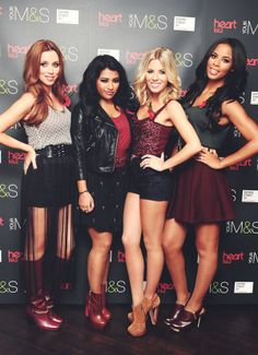 thehopeforthehopeless:  14 of ∞ flawless photos of The Saturdays