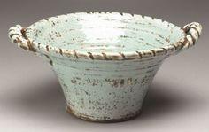Aged Finish Tuscan Style Pottery Bowl