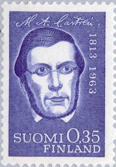 Castrén, Mathias Alexander (1813-1852), Linguist & Ethnologi Going Postal, Stamp Collecting, Postage Stamps, Finland, My Favorite Things, Sorting, Movie Posters, Art, Art Background