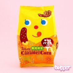 Tohato Caramel Corn - Chocolate Banana