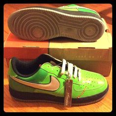 sports shoes 761d2 707b5 Nike Air Force One Premium, Mens size 8.5 Frankenstein Edition Nike Shoes  Sneakers Shop