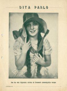 Dita Parlo - Revista Cinegrafia - 1929