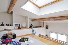 19 m2 : mon petit duplex bourré d'astuces - CôtéMaison.fr#diaporama#diaporama#diaporama