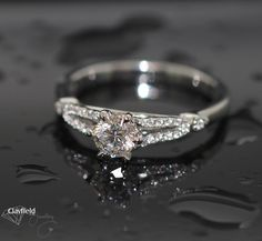 Beautiful diamond engagement ring by Clayfield Jewellery in Nundah Village - North Brisbane Fine Jewelry, Jewelry Making, Jewellery, Brisbane, Diamond Engagement Rings, Heart Ring, Jewels, Diy, Beautiful