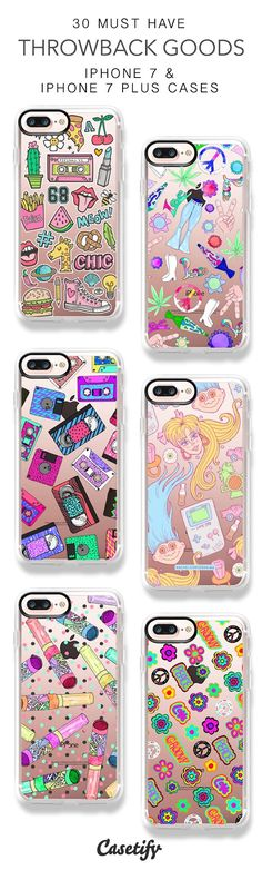 30 Must Have Throwback Goods Protective iPhone 7 Cases and iPhone 7 Plus Cases. More Retro iPhone case here > https://www.casetify.com/collections/top_100_designs#/?vc=B1ndH5B4p7