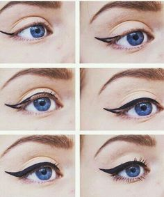 One of my favorite makeup looks is the Pin-up girl - red lips and perfect cat-eye liner. I know that...