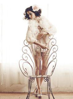 PEACOCK chair,so cute!!