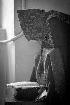 A Schema-nun at Prayer (photo uncredited)