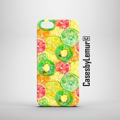 Handmade SUMMER FRUITY phone case for Iphone, Ipod, Samsung, HTC, LG, SONY, Blackberry, Google Nexus smartphones BEST GIFT for HIM or HER by CasesbyLemur designed in United Kingdom Cute Phone Cases, Iphone Cases, Google Nexus, Blackberry, Gifts For Him, Ipod, United Kingdom, Sony, Best Gifts