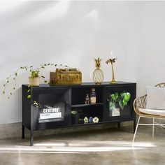 Living Room Storage, Storage Spaces, Furniture Deals, Home Furniture, Black Tv Console, Black Tv Stand, Traditional Cabinets, Living Room Modern, Home Remodeling