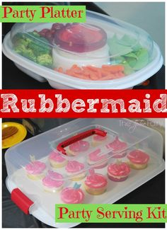 @rubbermaid Party Platter & Party Serving Kit for your Holiday Parties! AD #IC #GobbleAgain | The TipToe Fairy