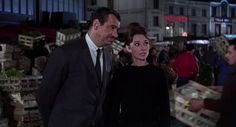 audrey hepburn and walter matthau in charade