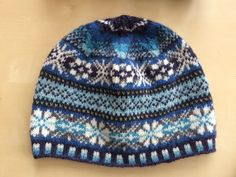Bespoke Fairisle hat completed - it's lush!