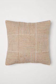 How Wide Is Home Decor Fabric Jute-blend Cushion Cover - Light beige - Home All Linen Pillows, Custom Pillows, Linen Bedding, Throw Pillows, Beige Cushions, Bedding Sets, Boho Cushions, Duvet Bedding, Bed Linens