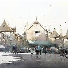Joseph Zbukvic Watercolor #drawingtechniques