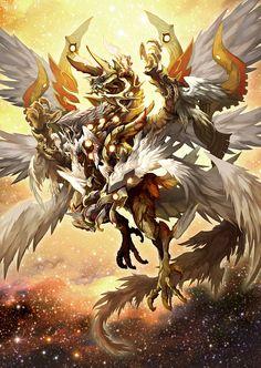Legend Light Dragon by pamansazz.deviantart.com on @DeviantArt