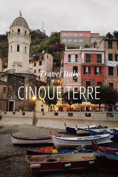 Cinque Terre Travel Italy by Rachel Follett on Steller #steller #cinqueterre #travelitaly