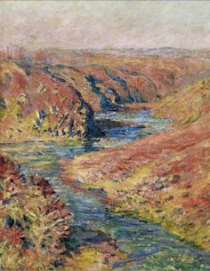 The Valley of Creuse at Fresselines, 1889 Claude Monet