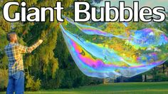 How to Make Enormous, Long-Lasting Bubbles With Guar Gum