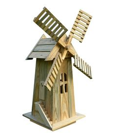 Another great find on #zulily! Natural Decorative Windmill #zulilyfinds