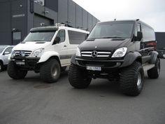 Mercedes-Benz Sprinter Modified Icelandic Style | eMercedesBenz