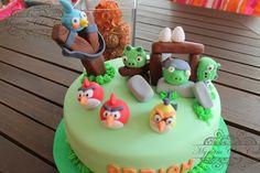 ¡Tarta de Angry Birds de Myriam Chic Cakes!