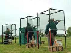 clay pigeon shooting at Adare Manor. Tempting ...