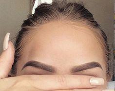 Las cejas más perfectas de Pinterest