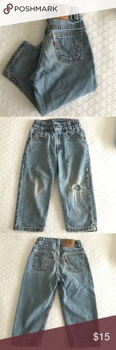 Levis classic vintage ripped knee jeans 3T Levi's classic vintage ripped knee jeans 3T unisex Levi's Bottoms Jeans
