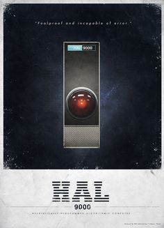 HAL 9000 what are you doing Dave.