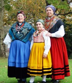 TRAJE REGIONAL TRADICIONAL CANTABRIA. montañesas Folk Costume, Costumes, Spanish Costume, Cultural Diversity, Traditional Outfits, Dress Up, Culture, Pretty, How To Wear