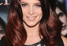 deep red hair for 2013 | ... winter hair trends for 2013 dont be afraid of some color rich deep