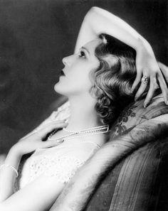 Mary Pickford, circa 1930.