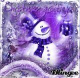 My Purple Snowman