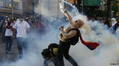Opposition protest in Caracas