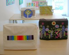 Sewing Machine Covers - Free Pattern