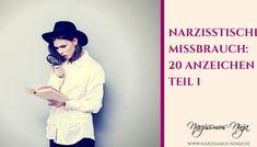 Narzisstischer Missbrauch: 20 Anzeichen Teil 1