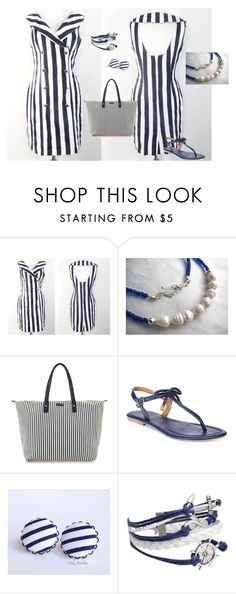 """""""Untitled #72"""" by cathi-langworthy-felix ❤ liked on Polyvore featuring Nautica"""