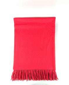 Kaschmir Schal waterwave rot Blanket, Cashmere, Scarves, Red, Rug, Blankets, Cover, Comforters, Quilt