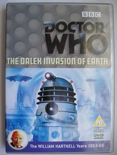 """The Dalek Invasion of Earth"" is an adventure of the second season of ""Doctor Who"" classic series which aired in 1964 featuring the First Doctor, Ian, Barbara and Susan. It's a six parts adventure written by Terry Nation and directed by Richard Martin. Image from the British edition of the DVD. Click to read a review of this adventure!"