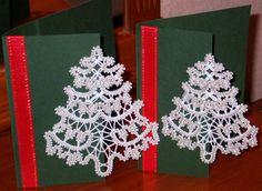 Advanced Embroidery Designs - FSL Battenberg Christmas Tree Lace