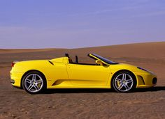 yellow.. YUM  (Ferrari F430 Spider - 2005)