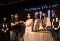 "Syukuran film ""11:11"" (foto by kicky herlambang/guritanews.com)"