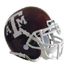 Texas A & M NCAA Authentic Full Size Helmet
