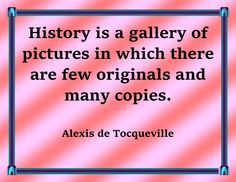 """Liven up your classroom environment with one of the greatest thinkers about America -- the Frenchman, Alexis de Tocqueville, who visited the U.S. and wrote the landmark work """"Democracy in America"""" to chronicle his observations. 20 printable posters included, each available in a variety of colors and fonts! These Tocqueville posters are great for debate and discussion -- gets students thinking about in what ways America today still looks like the nation Tocqueville visited in the 1800s!"""